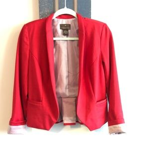 Red blazer size small.